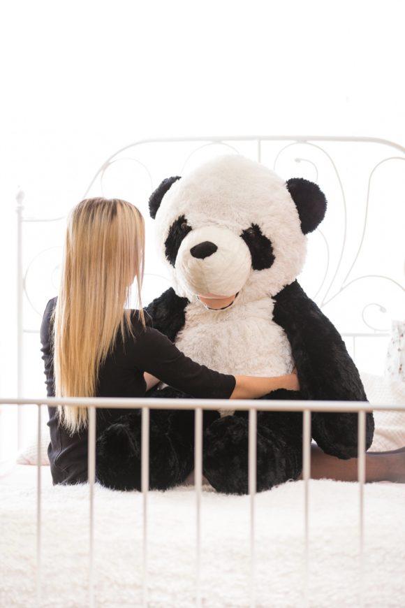 Velká plyšová panda 160cm