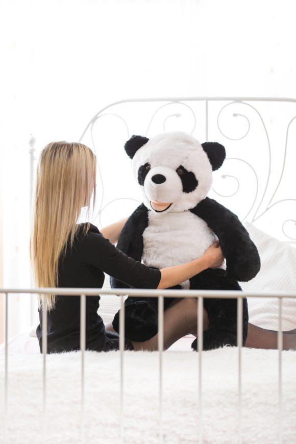 Plyšová panda 100cm