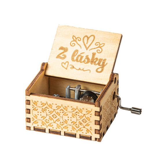 Hrací skříňka Z lásky